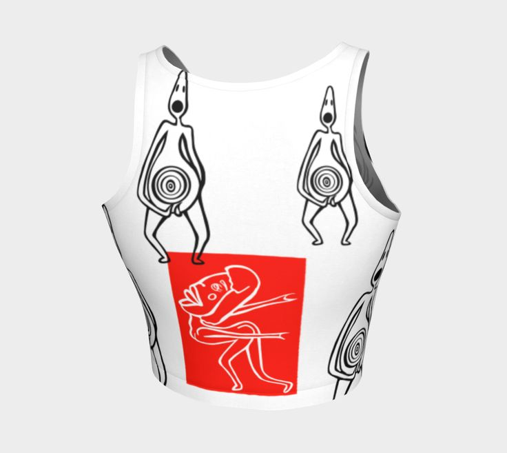 Athletic Crop Top | Clothing | Create | Art of Where