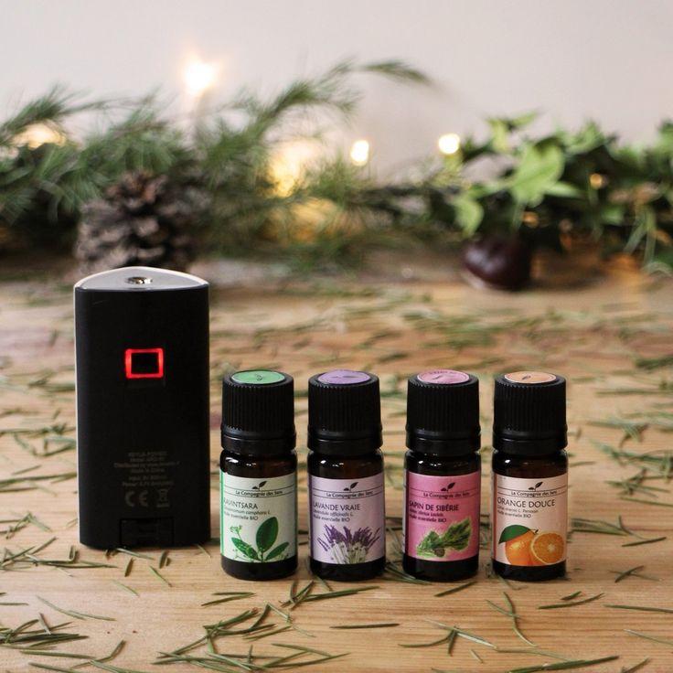 Pour découvrir tous les bienfaits des huiles essentielles en diffusion, ce n'est pas compliqué, il faut 2 choses : un diffuseur et des huiles essentielles. Ça tombe bien, c'est justement ce qu'offre la box découverte diffusion ! Un diffuseur petit et pratique à emmener partout avec soi, quelques huiles aux propriétés indispensables pour le quotidien, et vous voilà prêt à diffuser.  La Box contient un diffuseur nomade Keylia Power et 4 huiles essentielles à diffuser !