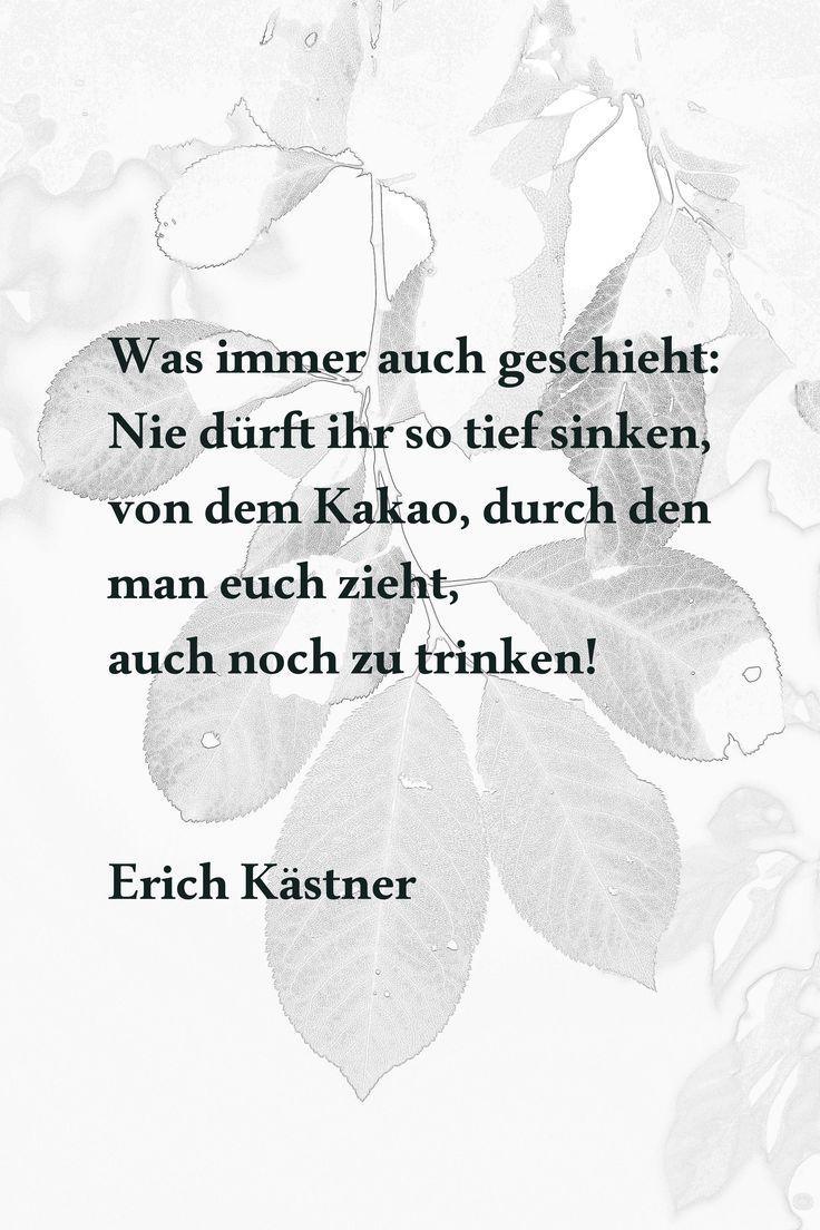 as 25 melhores ideias de erich kästner zitate no pinterest | erich ... - Sprüche Von Erich Kästner