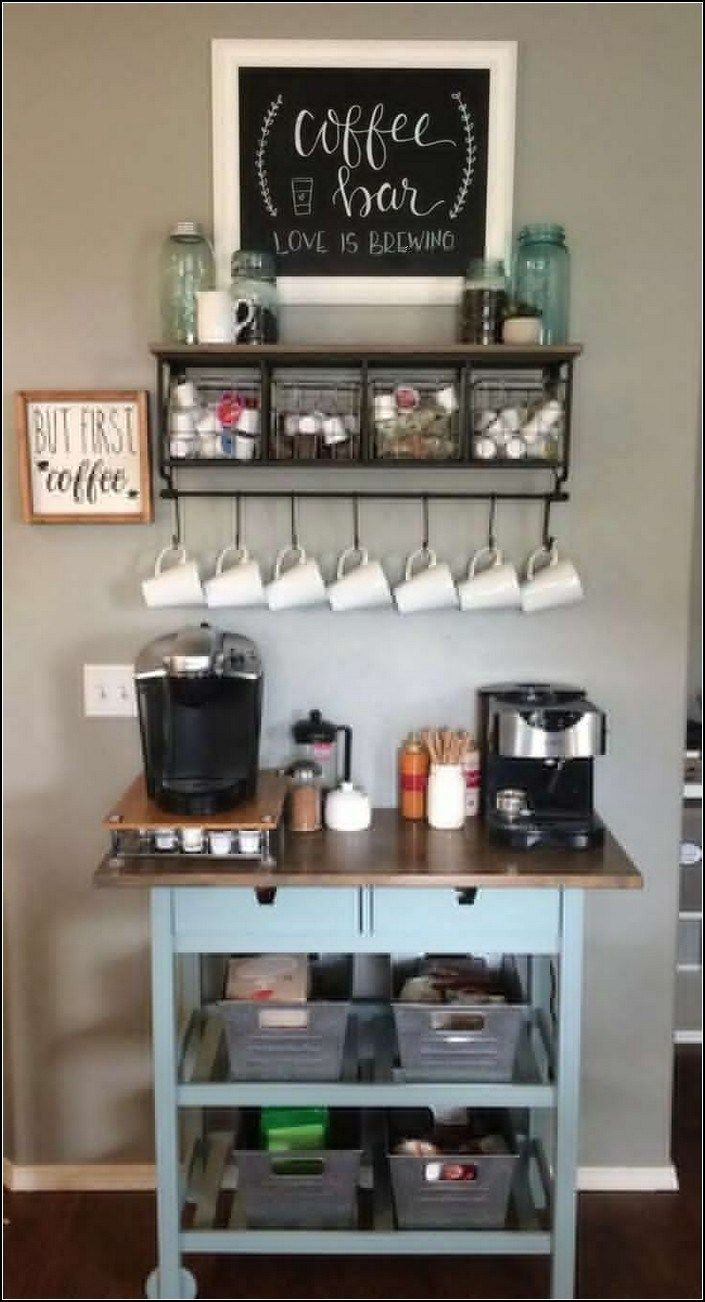 9+ best home coffee bar ideas for all coffee lovers 9 ...
