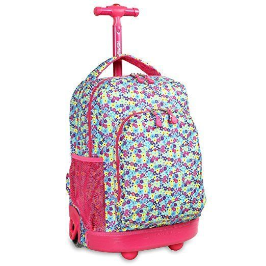 17 Best ideas about Girls Rolling Backpack on Pinterest | Hack ...