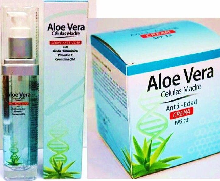 Tratamiento anti-edad celulas madre de aloe vera