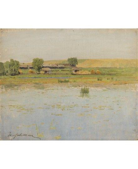 ISAAK ILIITCH LEVITAN (RUSSIAN 1860-1900) - March 29th 2014 Auction - Прошедшие Аукционы