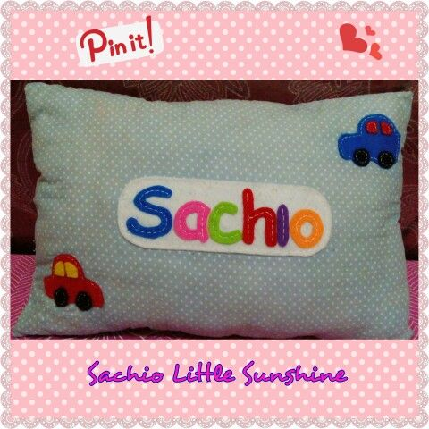 #pillow #pillowsouvemir #bantalnama #bantalaplikasi #bantalflanel #percaflanel #craft #souvenir