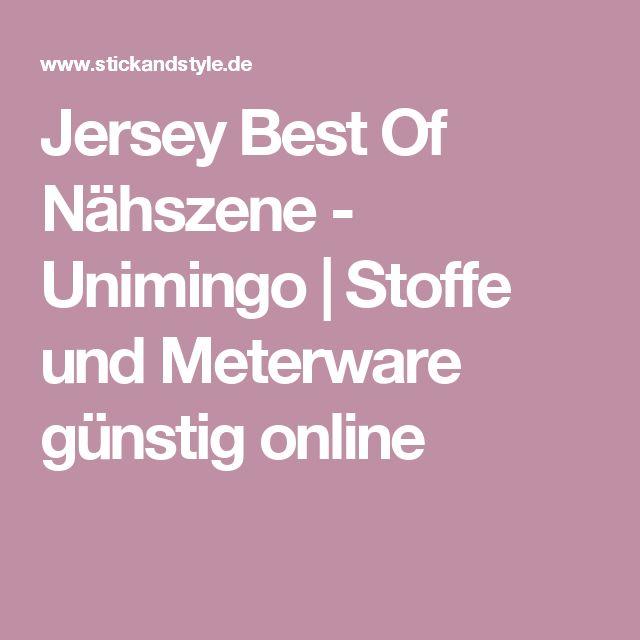Jersey Best Of Nähszene - Unimingo | Stoffe und Meterware günstig online