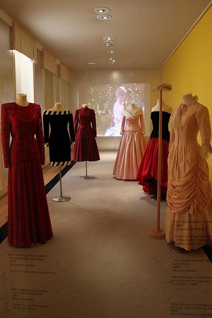 #Princess Diana's Dresses I love the black with the white stripe dress