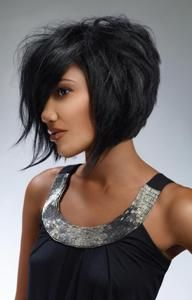I like the cut in back, but the front would make me crazy.