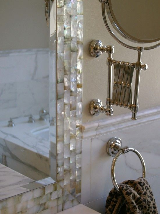 1000 Images About Mother Of Pearl Tiles Make Amazing Kitchen Bath Remodeled Projects On