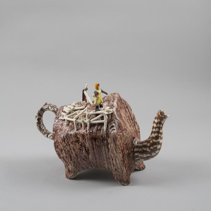 Richard Stratton, The Teapot Feeder, 2012