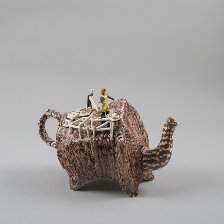Richard Stratton, The Teapot Feeder, 2012