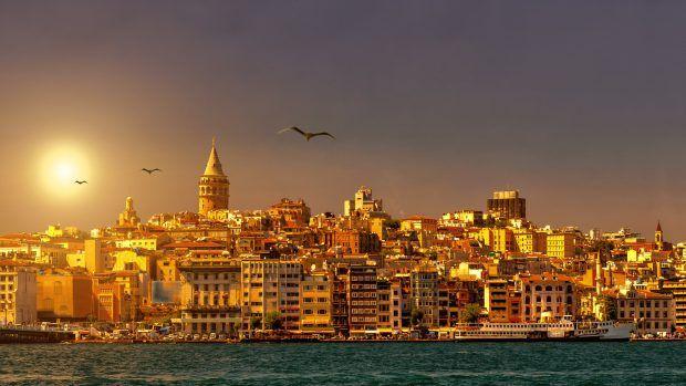 Istanbul 2560x1440 Turkey Sunset Hd Istanbul Istanbul Turkey New Wallpaper Hd