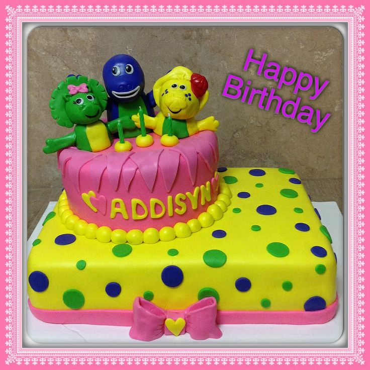 Barney Birthday Cake Walmart