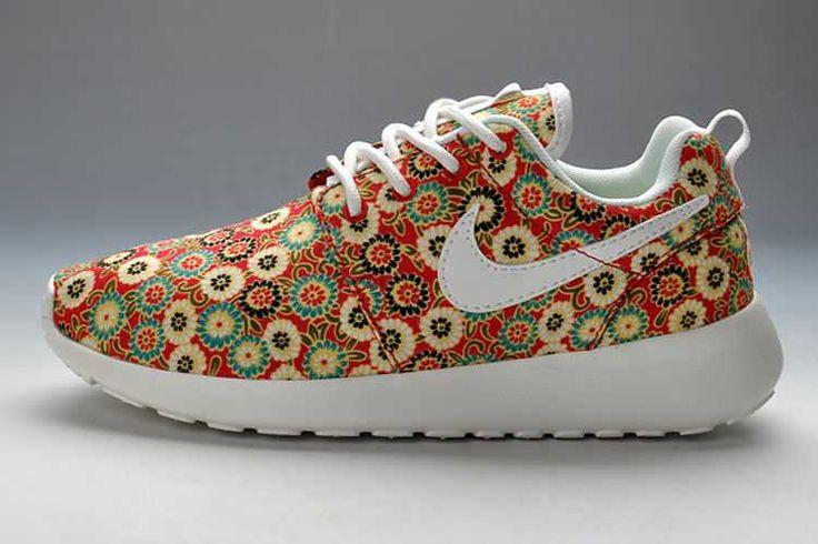 How Much Nike Roshe Run Pattern Womens Red Mum Sale Online