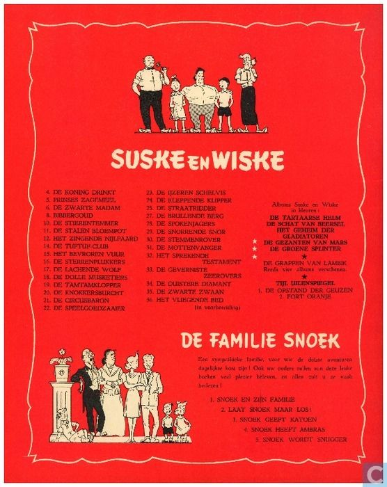 Strips - Suske en Wiske - De zwarte zwaan