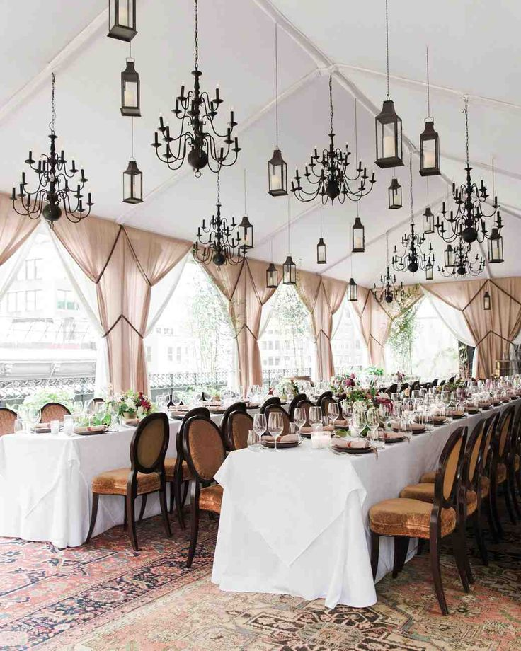 33 Tent Decorating Ideas to Upgrade Your Wedding Reception | Martha Stewart Weddings
