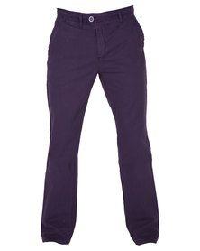 Utopia Chino Long Pants Purple