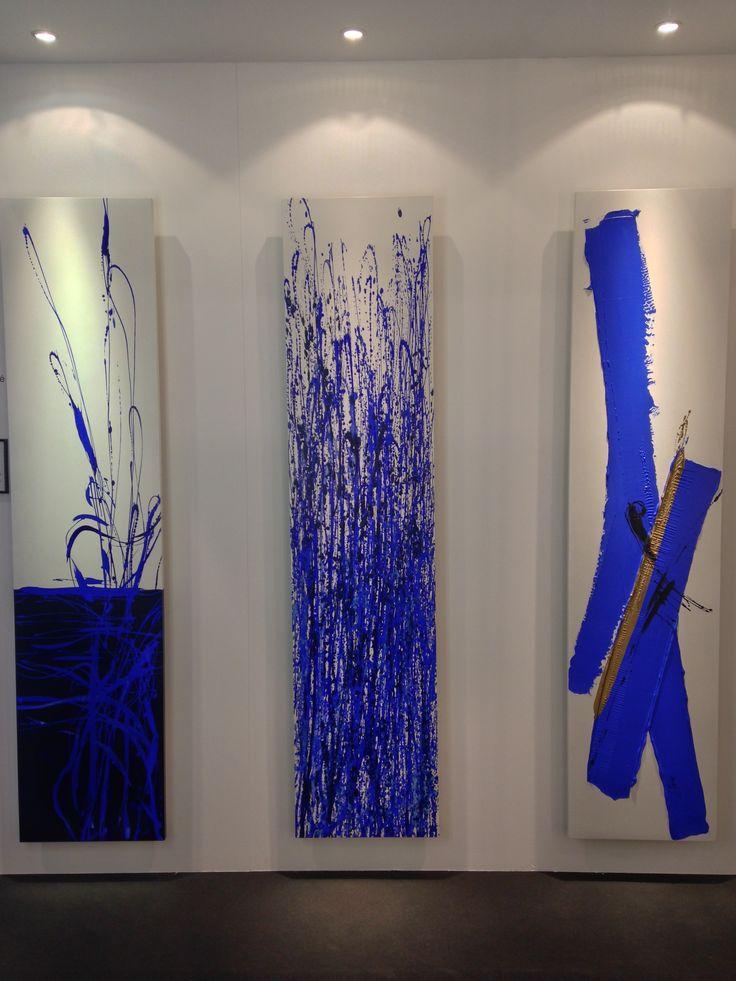Radiateurs design Cinier. Collection Pièce Unique BLUE. www.cinier.com