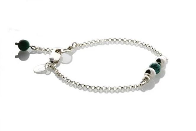 Sterling Silver Natural Turquoise Minimalist - KTC-316t
