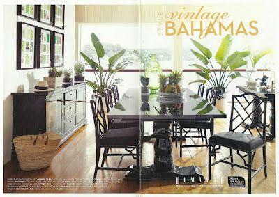 Domayne - Vintage Bahamas | British Colonial Decor | Pinterest