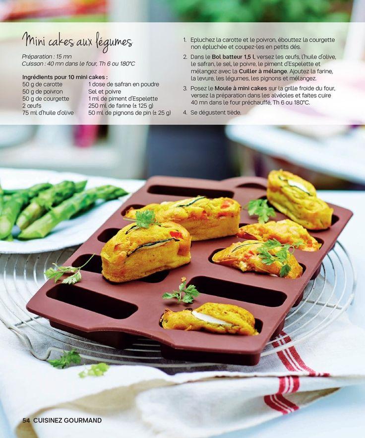 Mini cakes aux légumes
