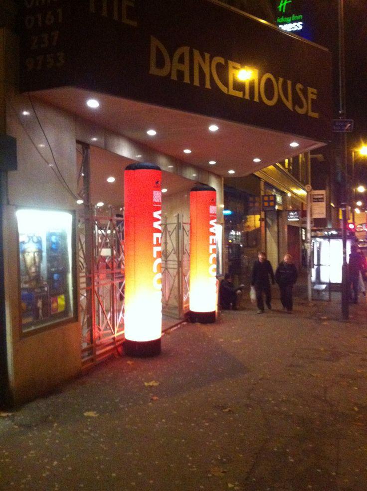 Manchester Dancehouse entrance Wednesday 20th November