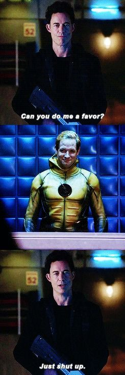 Harrison *so done with your shit* Wells HARRISON WELLS    EOBARD THAWNE    S2    THE REVERSE FLASH RETURNS