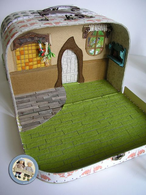 The Sun Egg - suitcase set by Lalinda.pl | por Lalinda.pl