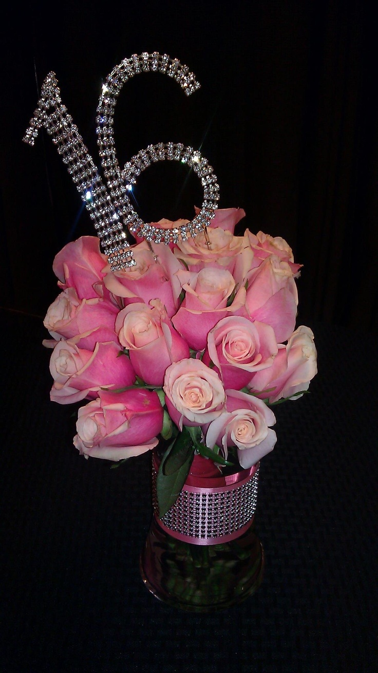 Centerpiece Gift Ideas : Sweet sixteen created by al s florist gifts flowers