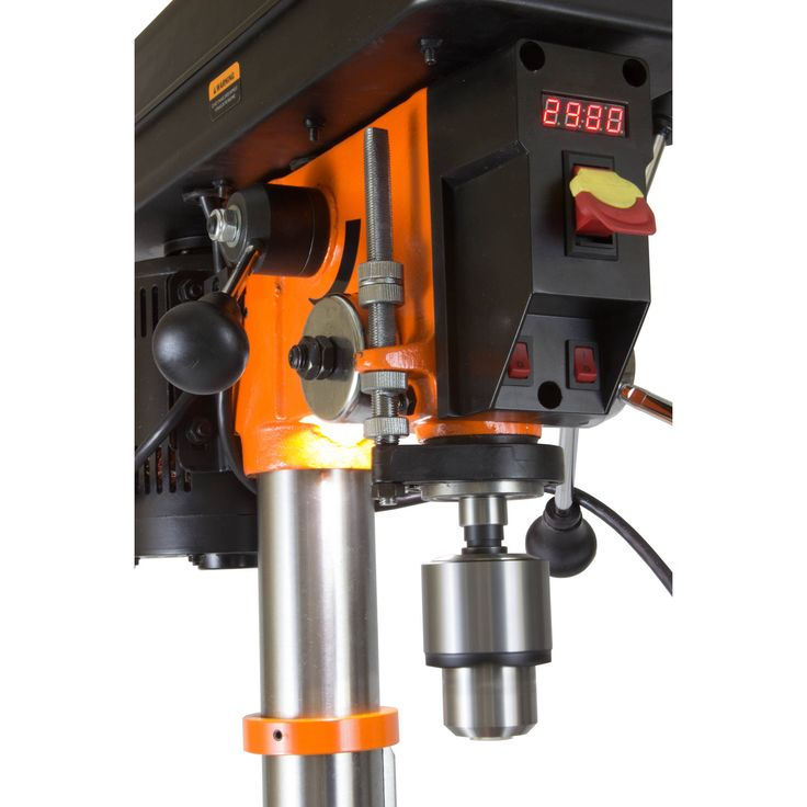 Infinitely variable speed range: 530-3100 RPM Mechanical variable speed delivers equal torque http://bigdealhq.com/best-small-drill-press