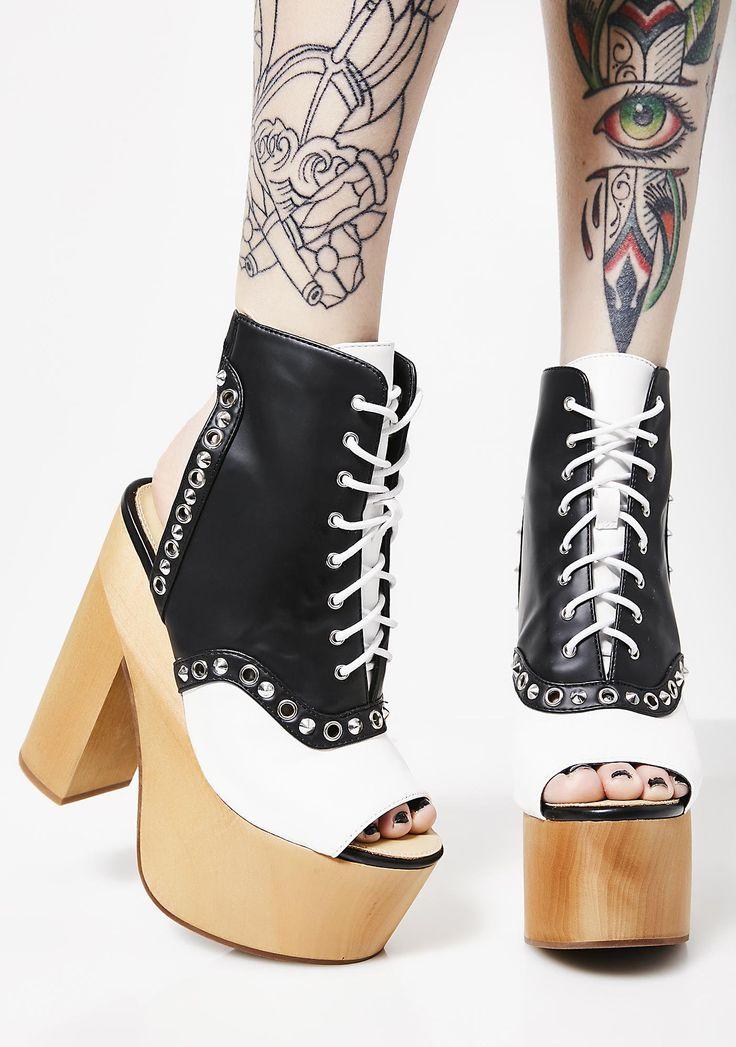 Charla Tedrick Gallows Oxford Boots   Dolls Kill