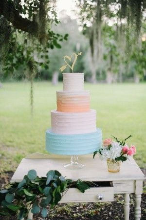 Soft Pastel Waterside Wedding