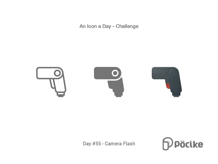 Icon Challenge Day 55 Camera Flash