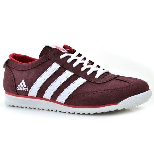 Adidas 975 Napa Bordo-Beyaz