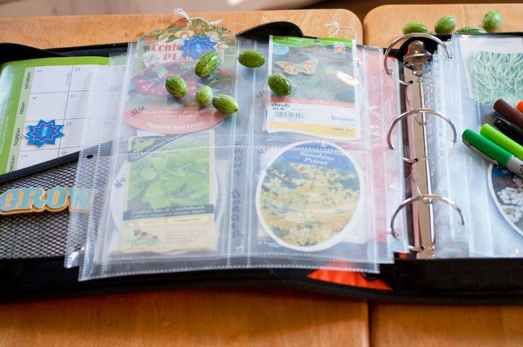 Garden journal.  I need to do this.  I have a hodge-podge of plant tags in a bag so I can try to remember what's what.