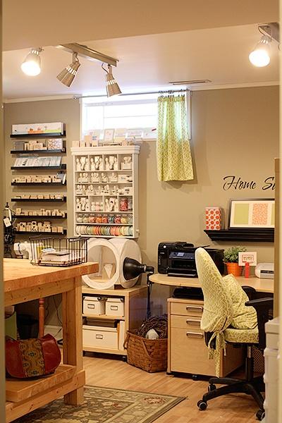 Craft room: Scrapbook Room, Sewing Room, Room Ideas, Craft Spaces, Craft Rooms
