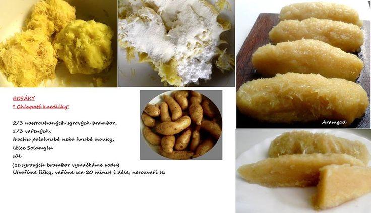 Kytičkový den - bramborový knedlík
