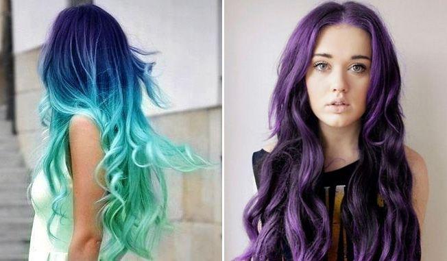 coloured hair fashion 2014 watch all colour shades work haarfarbe bunte beispiele hair. Black Bedroom Furniture Sets. Home Design Ideas