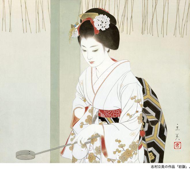 箱根・強羅温泉のデザイン旅館で志村立美の美人画に出会う | SUMAU