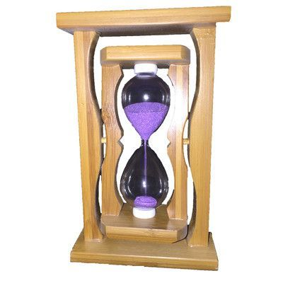 Creative Motion Sand Timer Hourglass Color: Purple