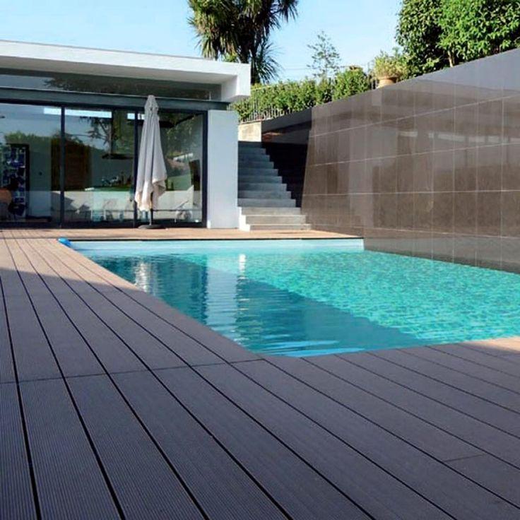 Parchet WPC. Deck pentru terase si piscine. Import Germania