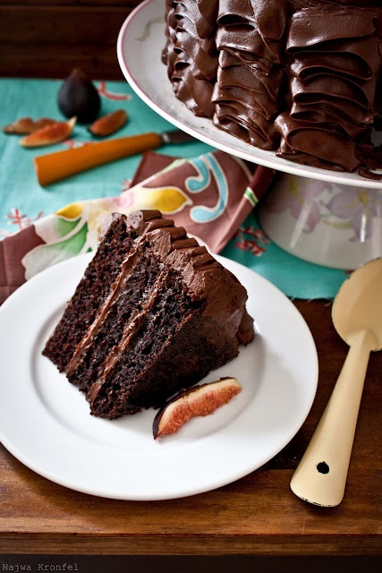 Chocolate coffee cake. Can this count as breakfast? =)