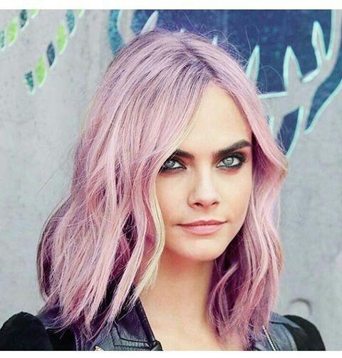 Fuckn cara with pink hair