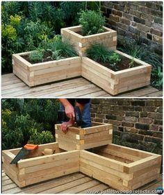Pallet Raised Garden Bed More