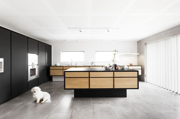 Garde Hvalsø –  køkkenbord – skabslåger – overflade – Desktop – Furniture Linoleum – Forbo