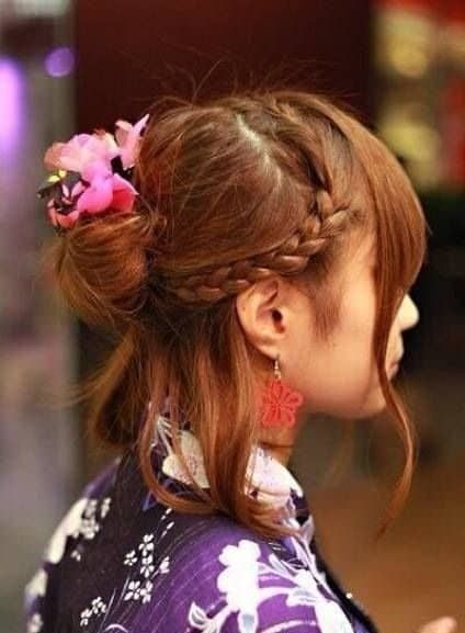 10 Amazing Japanese And Korean Bun Hairstyles 2019 Trend