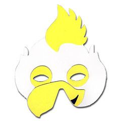 Chicken Childrens Foam Animal Mask | Simply Party Supplies