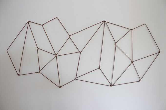 DIY Geometric Photo Display from thecaldwellproject.com | Android & iPhone Photo Prints - PostalPix.com