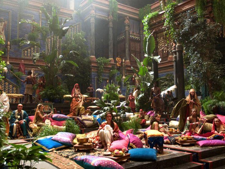 25 beste idee n over jardins suspendus de babylone op for Jardin suspendu