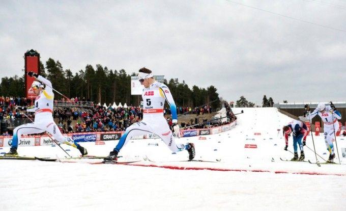 Peterson guides the sprint course | Skid-VM Falun 2015 | FIS Nordic World Ski Championships 2015