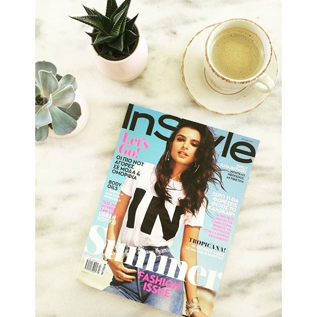 Relaxing summer Sundays   @instylegreece 🌵☕🌞  #Sunday #summer #goodmorning #instasummer #instyle #instylegreece #magazine #coffee #nespresso #coffeelover #coffeetime #coffeegram #instamoment #moodoftheday #mood #flatlay #stylish #trend #fashionista #styleblogger #fashiondiaries #instagood #cactus #blogger instadaily #tb #onthetable #fromabove #cotd #zkstyle